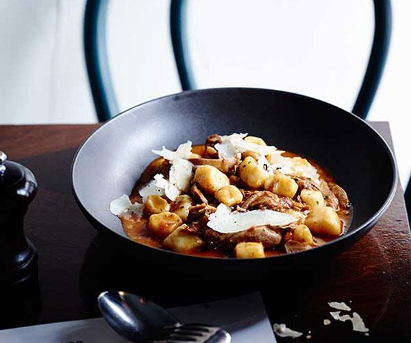 "**[Tipo 00's gnocchi with duck ragù and porcini mushrooms](http://www.gourmettraveller.com.au/recipes/chefs-recipes/gnocchi-with-duck-ragu-and-porcini-mushrooms-8407|target=""_blank"")**"