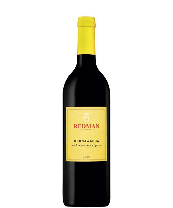 2016 Redman Cabernet Sauvignon, Coonawarra, $29