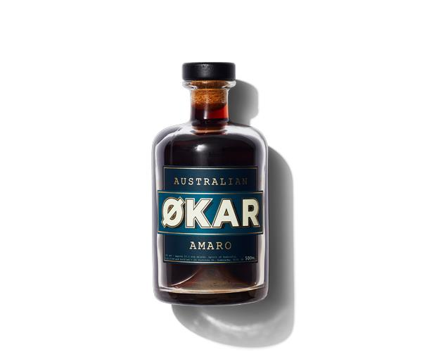 **Applewood Økar**  Handcrafted from botanicals native to the coastal rainforests of Australia, this Adelaide Hills amaro showcases rare riberries, fresh Davidson's plum and strawberry gum leaf.
