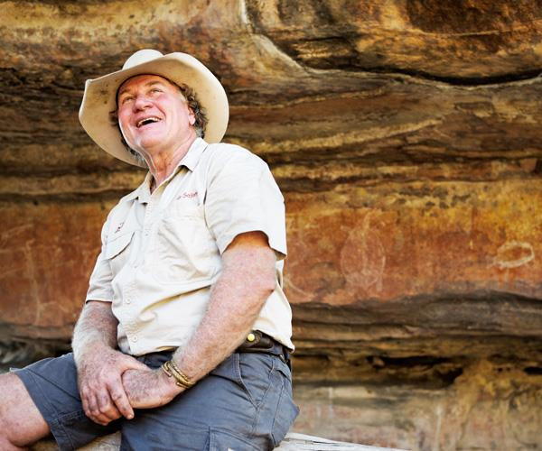 Northern Territory bushman guide Sab Lord