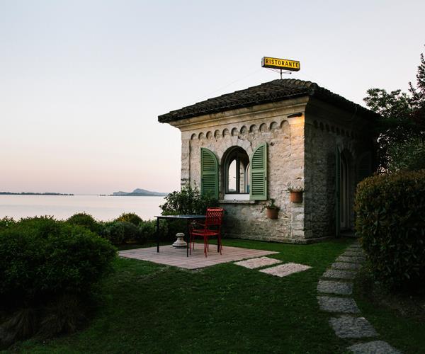 Lido 84 restaurant in Gardone Riviera