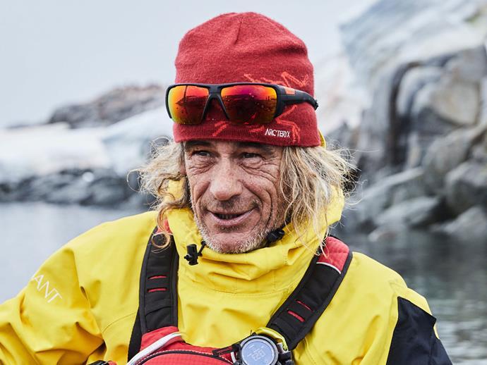 Kayaking guide Yann Lemoine.