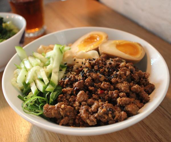 Super Ling's ma po pork noodles.