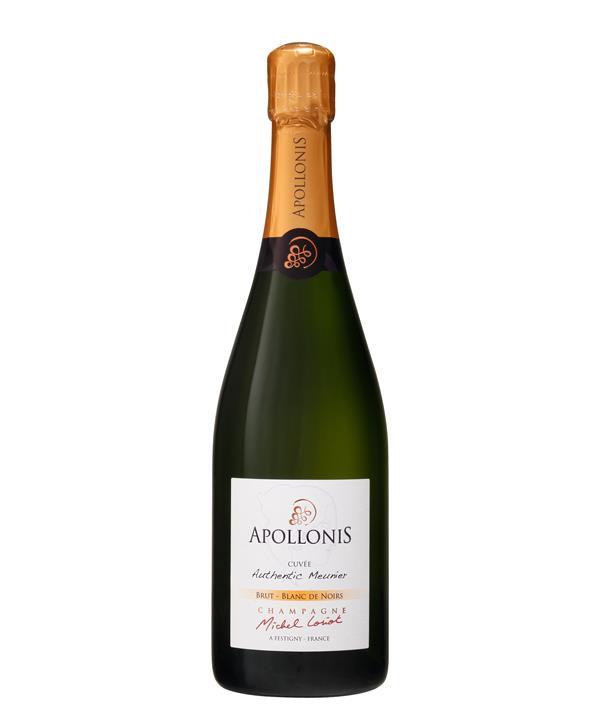 Apollonis Authentic Meunier Blanc de Noirs, Champagne, $79