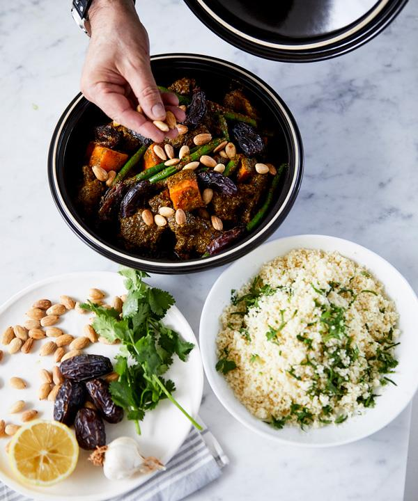 Neil Perry's lamb tagine