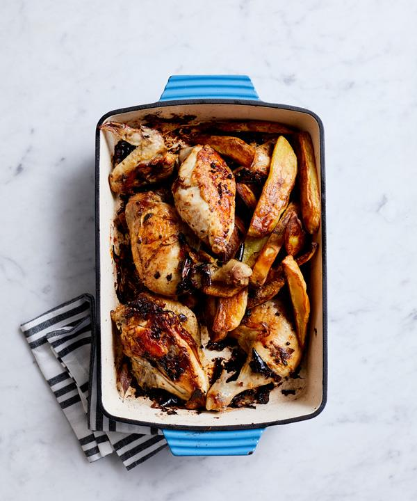 Mark Best's roast chicken with chilli and Sichuan pepper