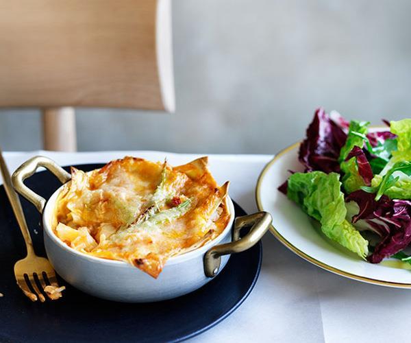 """**[Rinaldo Di Stasio's lasagne con aragosta](https://www.gourmettraveller.com.au/recipes/chefs-recipes/rinaldo-di-stasios-lasagne-con-aragosta-8524 target=""""_blank"""")**"""