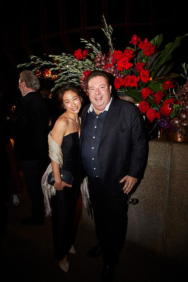 Palisa Anderson (Boon) and Peter Gilmore (Quay).