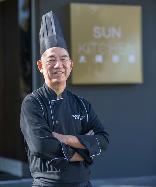 Chef Chan Kwok.