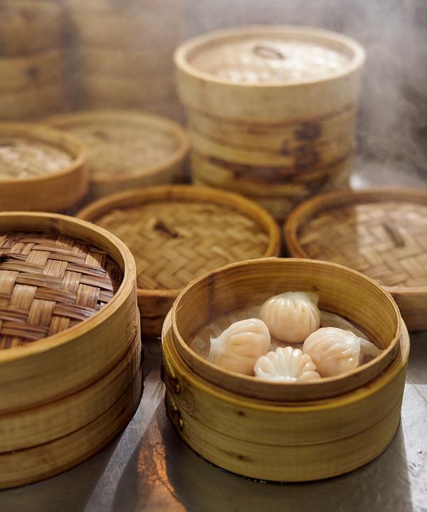 Har gow at Jing Yaa Tang.