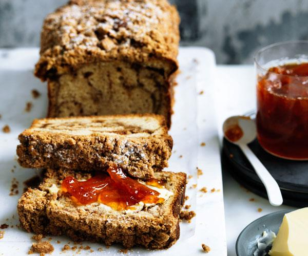 "**[Crème fraîche crumble cake with grapefruit marmalade](http://www.gourmettraveller.com.au/recipes/browse-all/creme-fraiche-crumble-cake-with-grapefruit-marmalade-curtis-stone-12535|target=""_blank"")**"