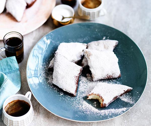 "[**New Orleans-style beignets with anise sugar**](https://www.gourmettraveller.com.au/recipes/browse-all/new-orleans-style-beignets-with-anise-sugar-12092|target=""_blank"")"
