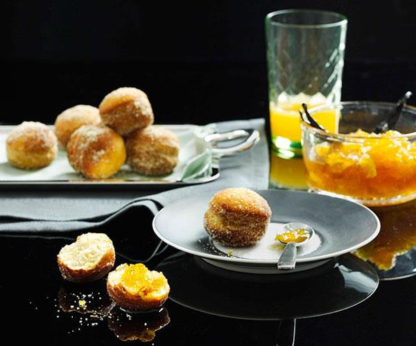 "[**Fennel bomboloni with orange jam**](https://www.gourmettraveller.com.au/recipes/browse-all/fennel-bomboloni-with-orange-jam-10532|target=""_blank"")"