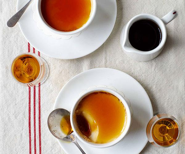 "**[Whisky caramel crèmes](https://www.gourmettraveller.com.au/recipes/chefs-recipes/whisky-caramel-cremes-9024|target=""_blank"")**"