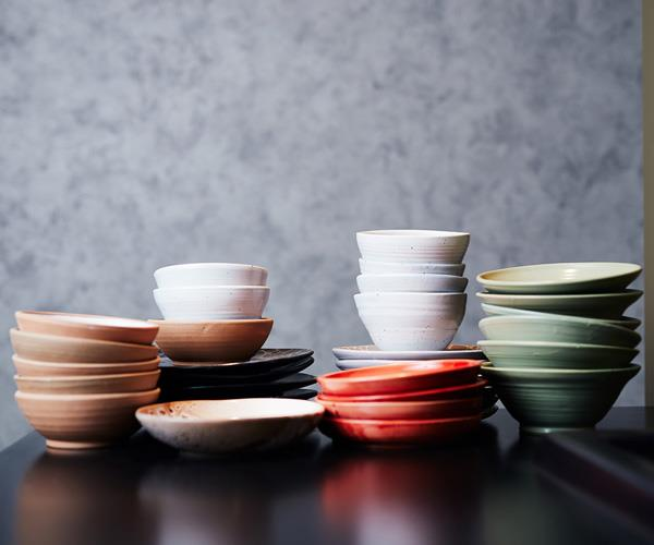 Julian Hills' handmade ceramics.