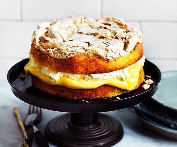 "**[Flour and Stone's lemon dream cake](https://www.gourmettraveller.com.au/recipes/chefs-recipes/lemon-dream-8225|target=""_blank"")**"
