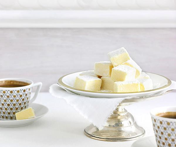 """[**Passionfruit marshmallows**](https://www.gourmettraveller.com.au/recipes/chefs-recipes/passionfruit-marshmallows-8837