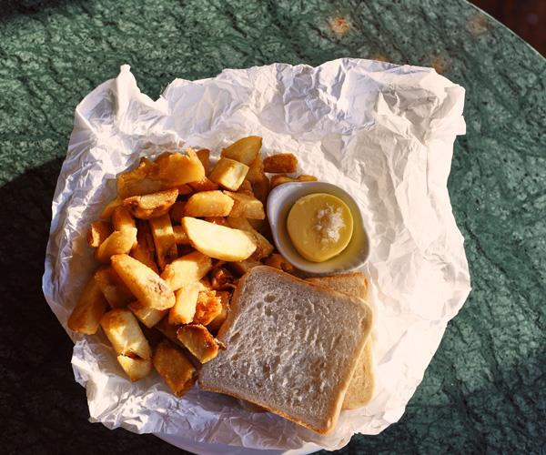 Chip butty.