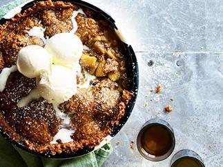 Apple Anzac Pie