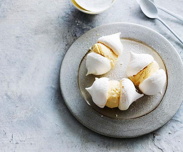 "**[Milko meringue ice-cream sandwiches](https://www.gourmettraveller.com.au/recipes/browse-all/milko-meringue-ice-cream-sandwiches-12939|target=""_blank"")**"
