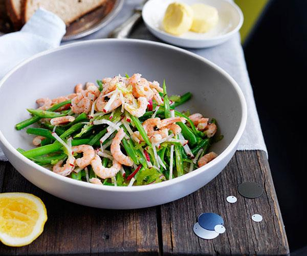 "**[Martin Boetz's Hawkesbury River school prawn and green bean salad](https://www.gourmettraveller.com.au/recipes/chefs-recipes/hawkesbury-river-school-prawn-and-green-bean-salad-7944|target=""_blank"")**"