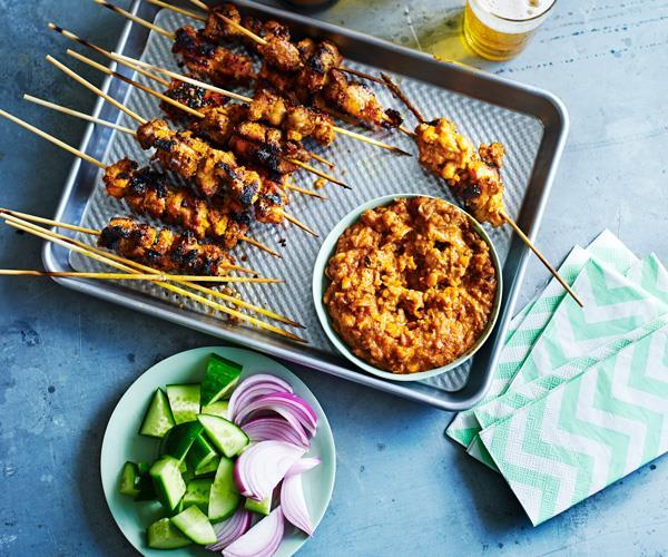 "**[Tony Tan's guide to making chicken satay](https://www.gourmettraveller.com.au/recipes/browse-all/chicken-satay-14217|target=""_blank"")**"