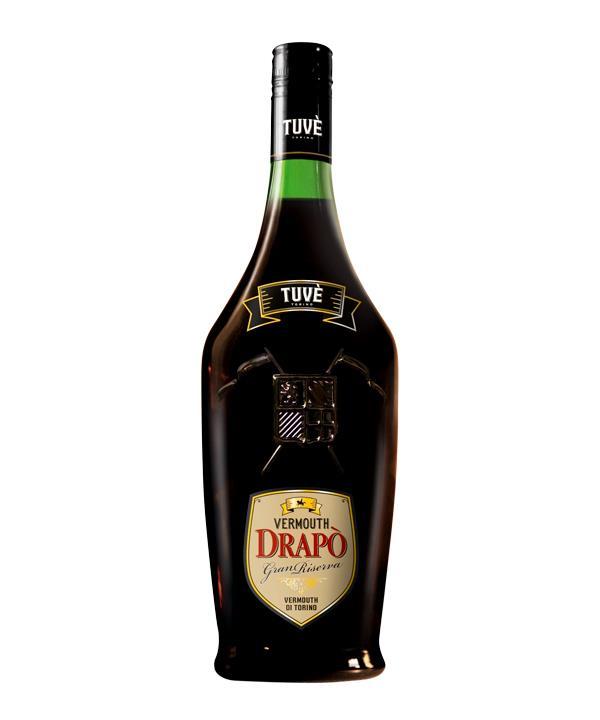 Tuvè Vermouth Drapò Gran Riserva, Turin, $45