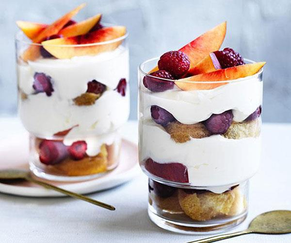 "**[Summer trifle](https://www.gourmettraveller.com.au/recipes/fast-recipes/summer-trifle-13881|target=""_blank"")**"