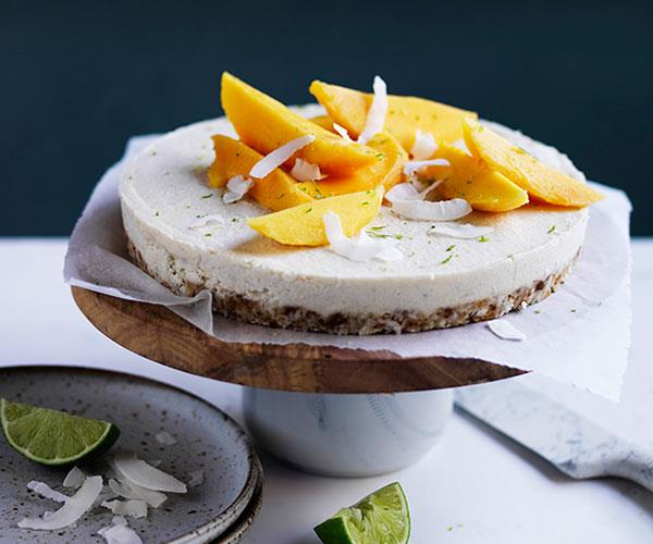 "**[Coconut-macadamia-lime tart with mango](https://www.gourmettraveller.com.au/recipes/browse-all/coconut-macadamia-lime-tart-with-mango-12722|target=""_blank"")**"