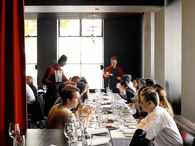 George Calombaris's finer-diner The Press Club held its last service after a 12-year-run.