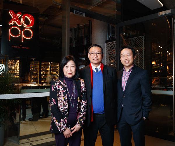 Linda, Eric and Billy Wong.