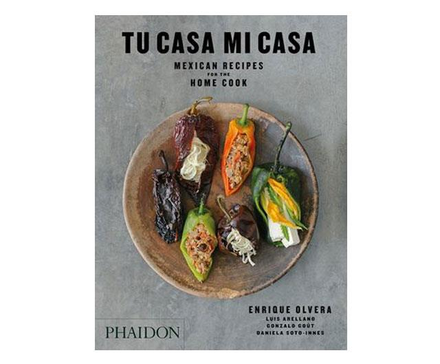 "**Tu Casa Mi Casa** <br/> ([$59.95, Phaidon](https://www.booktopia.com.au/tu-casa-mi-casa-enrique-olvera/book/9780714878058.html|target=""_blank""