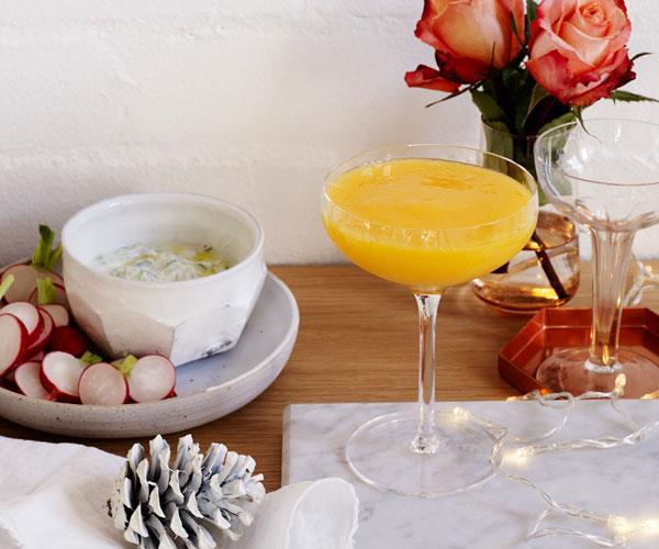 "**[Coconut and mango Daiquiris](http://www.gourmettraveller.com.au/recipes/chefs-recipes/coconut-and-mango-daiquiris-8157|target=""_blank"")**"