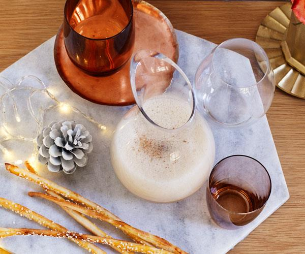 "**[Scottish Eggnog](http://www.gourmettraveller.com.au/recipes/chefs-recipes/scottish-eggnog-8187|target=""_blank"")**"