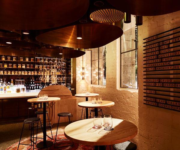 Elektra's bar.
