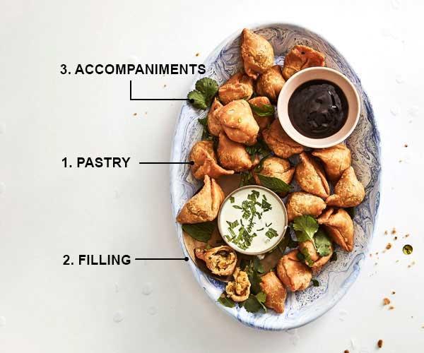 Anatomy of a dish: samosas.