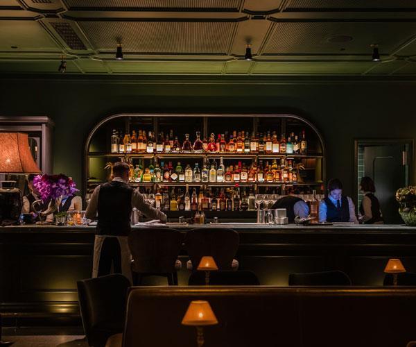 The bar at Little Felix.