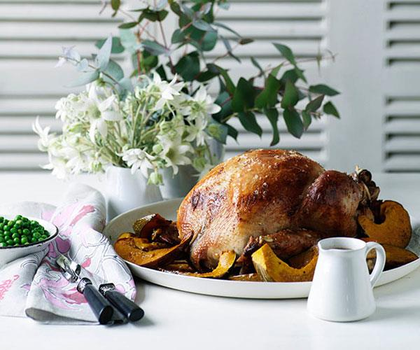 "**[Classic roast turkey](https://www.gourmettraveller.com.au/recipes/browse-all/classic-roast-turkey-10289|target=""_blank"")**"