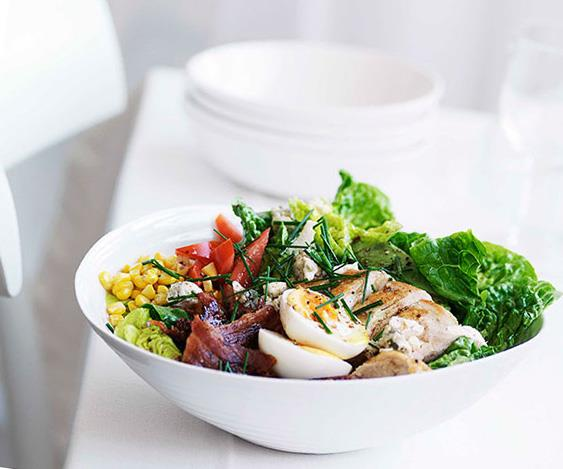 "[**Cobb salad**](https://www.gourmettraveller.com.au/recipes/fast-recipes/cobb-salad-13075|target=""_blank"")"