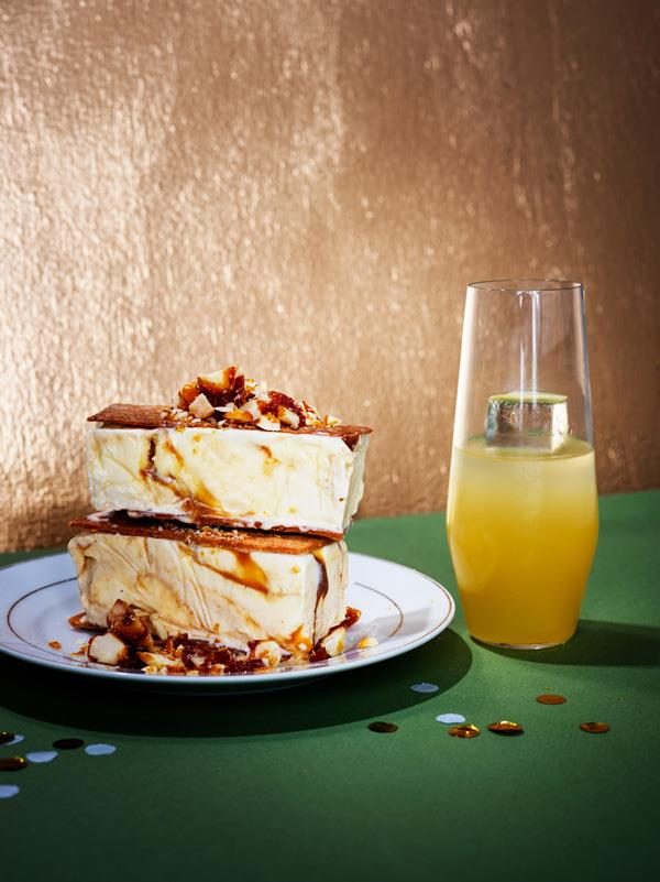 "**[Salted-caramel macadamia ice-cream sandwiches](https://www.gourmettraveller.com.au/recipes/browse-all/salted-caramel-macadamia-ice-cream-sandwiches-18105|target=""_blank"")**  **Recipe:** Lisa Featherby **Styling:** Lynsey Fryers **Photography:** Ben Dearnley **Magazine issue:** November 2019"