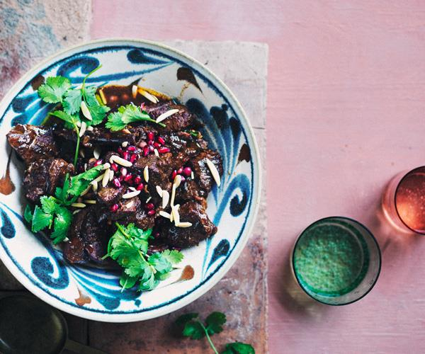 """**[Slow-cooked spiced lamb with prunes](https://www.gourmettraveller.com.au/recipes/browse-all/slow-cooked-lamb-prunes-18154