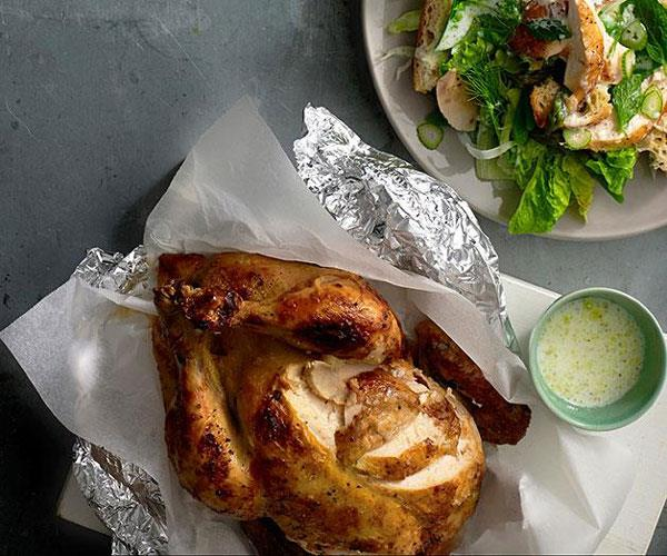 "**[The cheat: barbecued chicken](https://www.gourmettraveller.com.au/recipes/explainers/the-cheat-barbecued-chicken-2169|target=""_blank"")**"