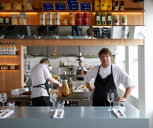 La Primavera chef Leifur Kolbeinsson.