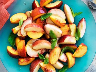 Stone fruit salad