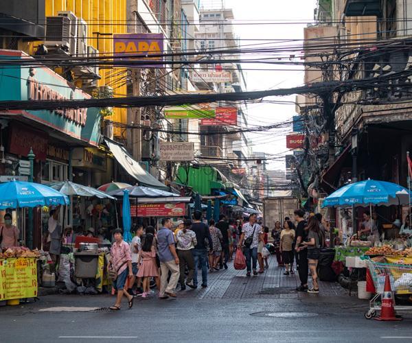 Bangkok's Chinatown precinct.