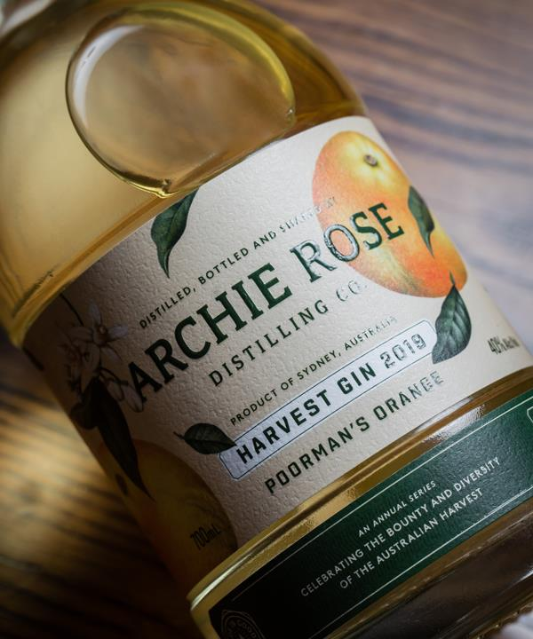 Archie Rose Distilling Co's Harvest Gin 2019