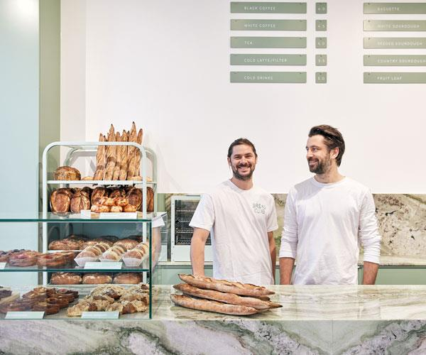 Bread Club co-owners Brice Antier and Tim Beylie.