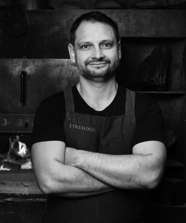 Firedoor head chef and owner Lennox Hastie.
