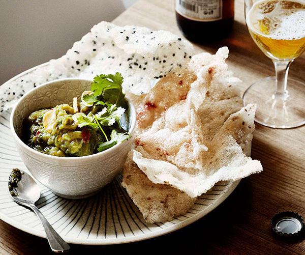 "**[Dandelion's Hmong spicy eggplant mash](https://www.gourmettraveller.com.au/recipes/chefs-recipes/dandelion-hmong-spicy-eggplant-mash-7672|target=""_blank"")**"