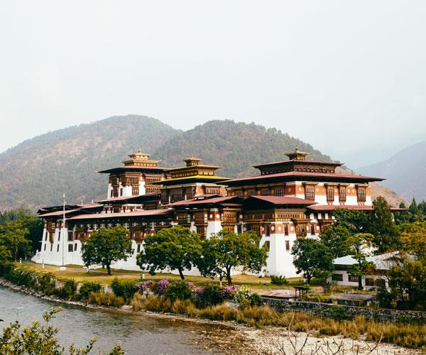 Punakha's Druk Pungthang Dechen Phodrang.